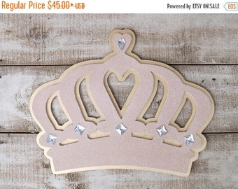 ON SALE Crown Wall Decor /Above the Bed Crown / Crib  Canopy Crown / Princess Crown / Princess Decor /Nursery Crown