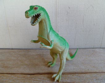 "Dinosaur Plastic Toy ""Tyrannosaurus Rex"" 1985"