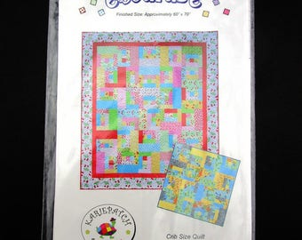 Baby Quilt Pattern Escapde by Karie Patch