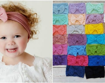 Baby headbands, Baby Headband, Newborn headbands,Baby Nylon Headband, nylon headbands, infant headband, newborn headband,baby girl headbands