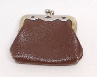 Leather Coin Purse - Leather Change Purse -  Change Purse