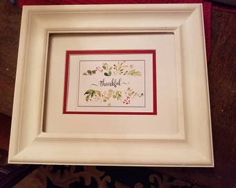 Framed Calligraphy, Greeting Cards, Inspirational  Quotes,