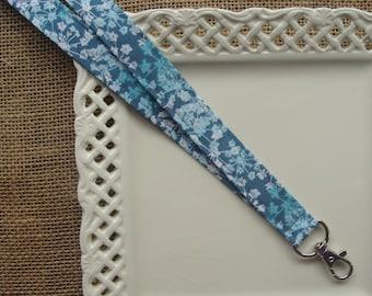 Fabric Lanyard - Tangled Flowers