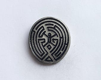 Hand Cast Maze (Westworld) 1 in. Lapel Pin