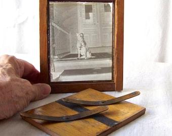 Antique Printing Frame Glass Negative Print Frame ca. 1908