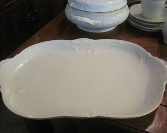 Rosenthal Group Classic Rose with Gold Trim Lg Platter