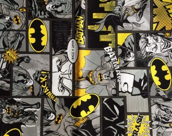 Batman fabric anime 100cm x 70cm