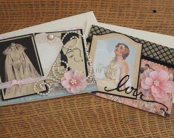 G45 Wedding Cards set of 2 Wedding Cards