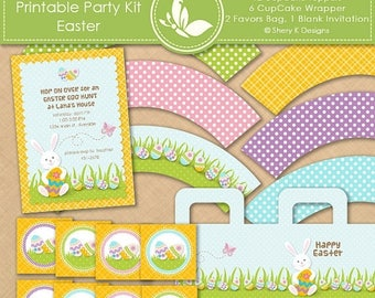 40% off Printable Party Kit - Easter