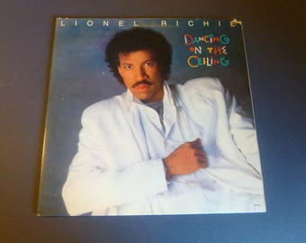 Lionel Richie Dancing On The Ceiling Vinyl Record LP 6158ML Motown Records 1986