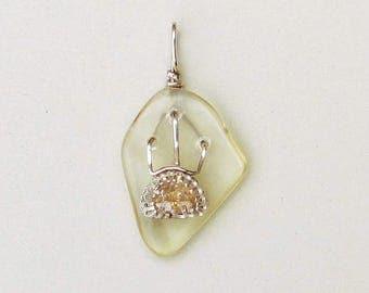 Yellow labradorite pendant, Rising sun pendant,  sterling silver pendant, champagne stone pendant, sterling pendant, sunrise, labradorite