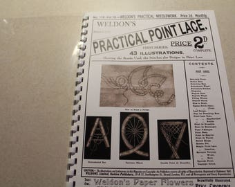 Weldon's Practical Point Lace- Instruction Book