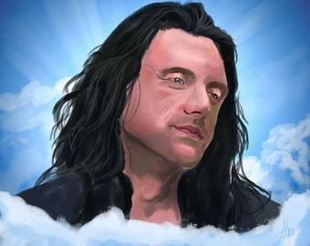 Oh, Hi Mark! Tommy Wiseau art print!