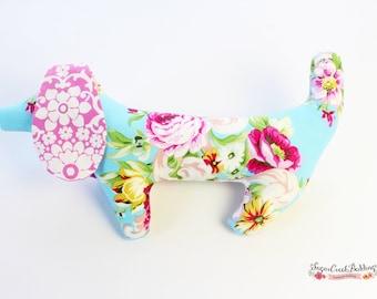 Penelope Puppy stuffed animal, baby girl gift