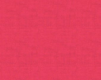 Andover Fabrics. Linen Texture. Fuchsia - By The Yard - Choose your cut