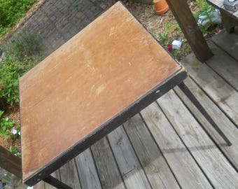Vintage Singer Featherweight Sewing Machine Folding Table--Early Seriel Number 0024266-Seriel Numbers Match on Table & Insert-Needs TLC