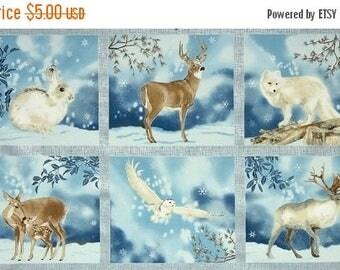 SALE Winter White, Fabric Panel, Robert Kaufman Fabrics