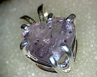 Beautiful Madagascar Purple Sapphire Pendant