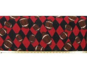 Football Fleece Tie Blanket