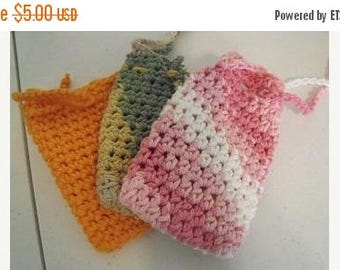 On Sale Set of 3 soap saver bags