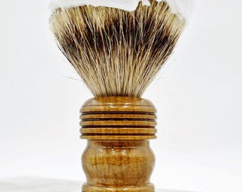Shaving Brush for Shavers who prefer it Wet.