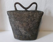 RESERVED for Jon Antique 1800s European Cow Bell