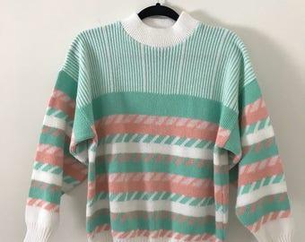 Vintage 90's Pastel Sweater