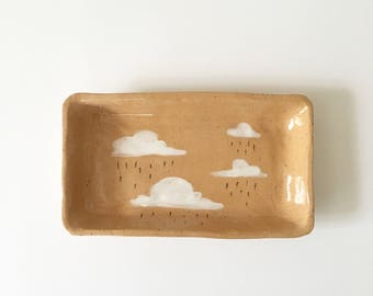 RAINY DAY small rectangle tray