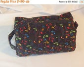 Christmasinjuly CIJ Sale Music Bag, Toiletry Kit, Go Bag, Cosmetics Clutch, Music Lover Gifts, Toiletry Bag, Pencil Case, Dopp Kit, Snack Ba