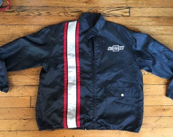 Vintage Chevrolet cafe racer jacket