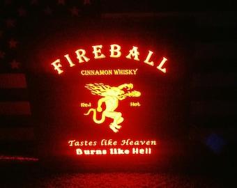 Fireball multi color led Sign