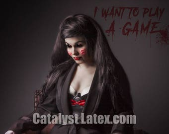 Latex Billy from Saw inspired Lingerie Set
