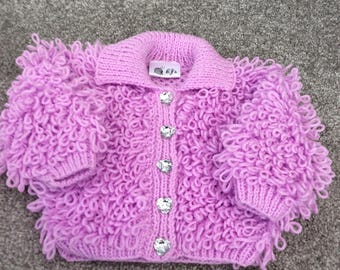 Girls Loopy Jacket 0-3 months