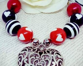Ladies Alice in wonderland inspired necklace