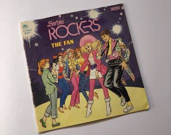 1987 Barbie and the Rockers Book
