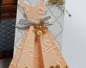 Custom Order .... Script Dress Hershey Bar Covers