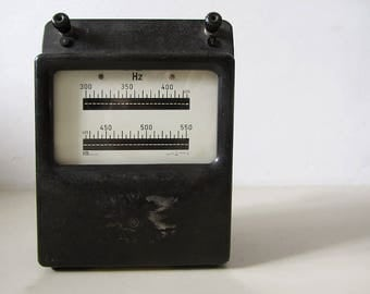 Vintage French Frequency Meter