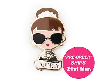 Audrey Hepburn Pin Brooch Bestseller