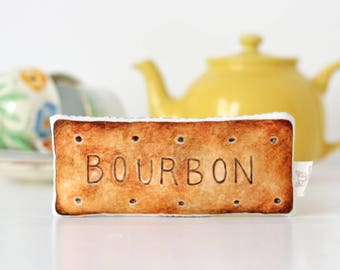 Bourbon Biscuit Baby Rattle Baby Gift Baby shower Gift
