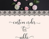 Advice for Mom and Dad - Custom Order for Nikki