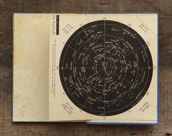 Astronomy book A Guide to the Sky by Ernest Agar Beet vintage 1940s book