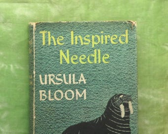 Embroidery ideas, vintage needlework book, The Inspired Needle by Ursula Bloom