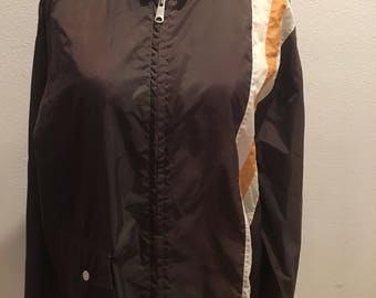 Retro Windbreaker Jacket Steve McQueen Inspired Racing Large/Extra Large Unisex