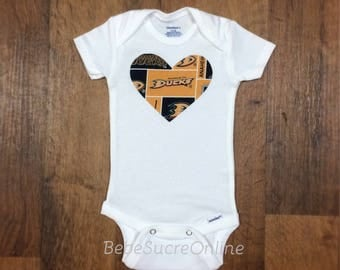 Anaheim Ducks Girls Bodysuit or Toddler Shirt