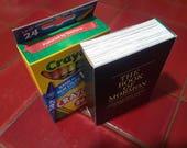 Book of Mormon Crayon Box Template PDF