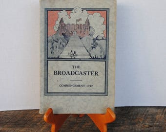 1927 The Broadcaster Public School 51 Commencement Buffalo New York