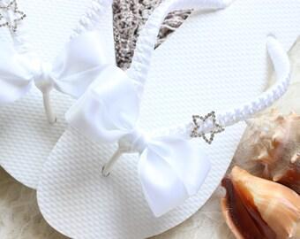Wedding shoes, bridal FLIP FLOPS, women bridal shoes, bridal sandals, wedding sandals, bridal slippers, wedding slippers, dancing shoes