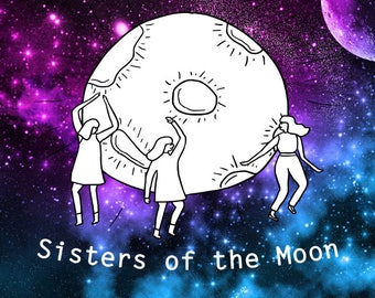 Sisters of The Moon Graphic Tee