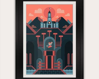 Super Mario   ON SALE 25% OFF   Nintendo   Gaming Inspired Art   Home