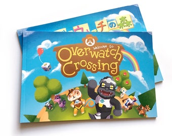 Overwatch Crossing Fanzine Animal Crossing Book New Leaf Tracer